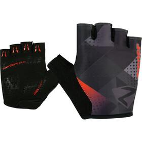 Ziener Cristoffer Handschoenen Heren, black/new red